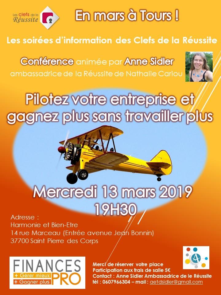 coach nature sante Soirée du 13 mars 2
